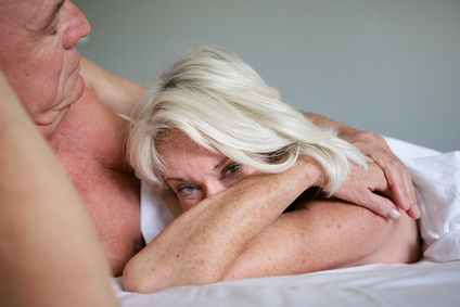Older couple in bed