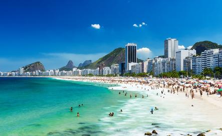 Copacabana beach, Rio de Janeiro.  Photo: © ekaterina_belova - Fotolia.com