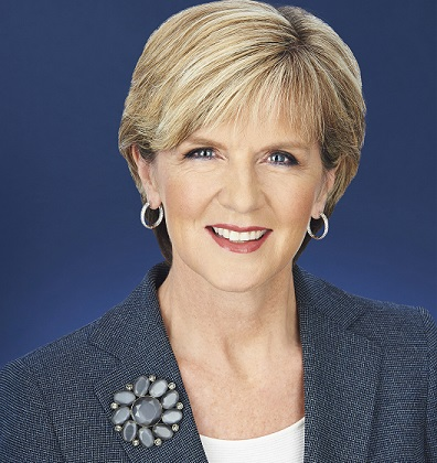 Official Portrait of Julie Bishop. Picture: foreignminister.gov.au