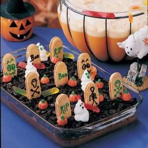 Graveyard Cakes