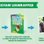 Oxfam Unwrapped Charity Gifts for Christmas 2014