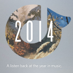Australia's most listened to music in 2014