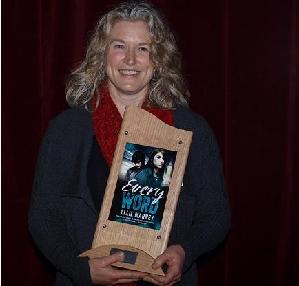 Winner of the Davitt Award for Best YA Novel, Ellie Marney. Photo: Sisters in Crime