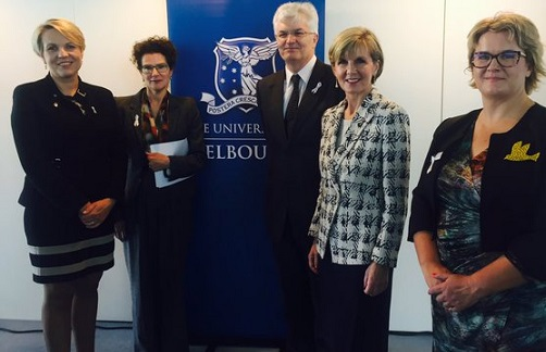 University of Melbourne to address under-representation of women in politics