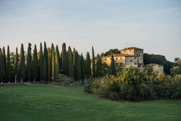 Castello Tancredi Buonconvento, Toscana, Italy