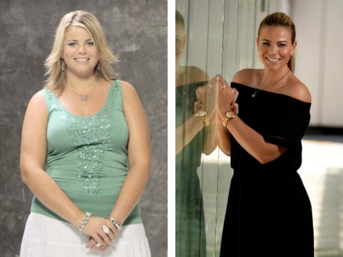 Fiona Falkiner's weight loss journey
