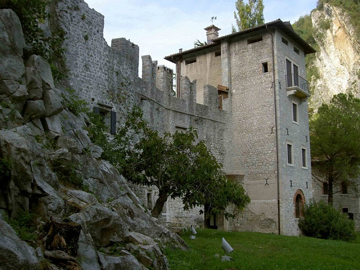 Castrum of Serravalle, Veneto, Italy