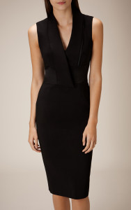 TUXEDO SIGNATURE PENCIL DRESS