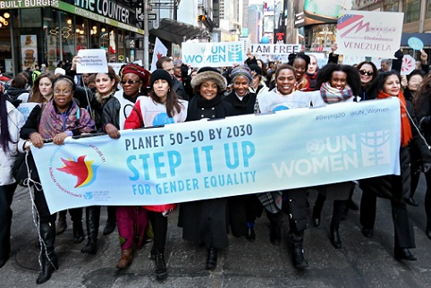 UN Stepping up for International Women's Day 2016 with Planet 50-50 by 2030 campaign