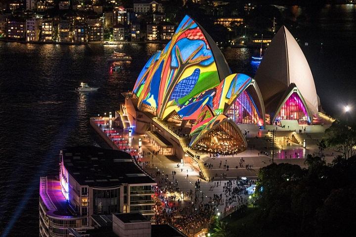 Sydney Opera House, Vivid Sydney 2016.