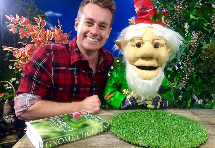 Grant Denyer & Cedric the Gnome