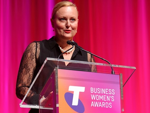 Tracey Vieira named 2016 Telstra Queensland Business Woman of the Year