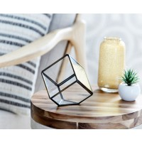 Glass Prism Angled Cube by Morgan & Finch