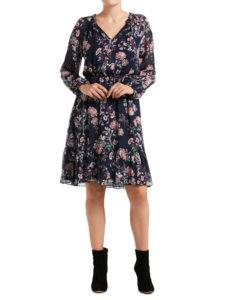 Sussan Winter Floral Dress