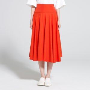 Uniqlo U Rayon Midi Skirt