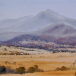 """Mt. Tawonga, Kiewa Valley, Vic"" by Isla Patterson"