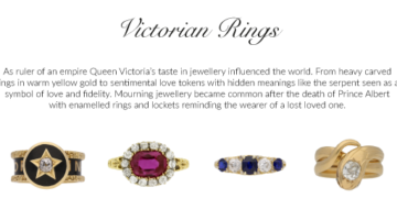 Infographic: A great Victorian jewelry piece