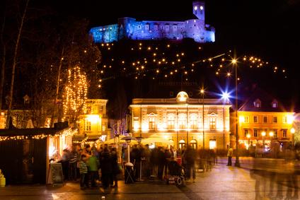 Ljubljana, Slovenia (stock photo)