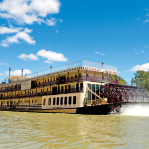 Classic Paddlewheeler Cruise on the Murray River