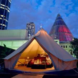 Rooftop Glamping Experience in Trendy Melbourne