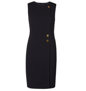 Sienna Spot Military Dress