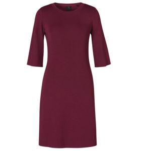 David Lawrence Soko Ruffled Sleeve Milano Dress