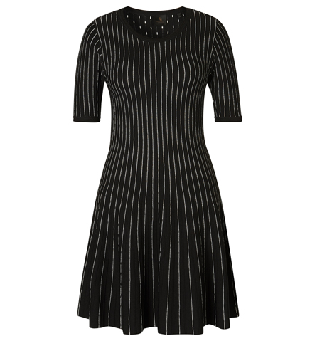 David Lawrence Laney Stripe Knit Dress