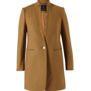 David Lawrence Orlan Felted Wool Coat