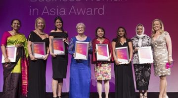 Finalists for the 2017 Telstra Business Woman of the Year in Asia