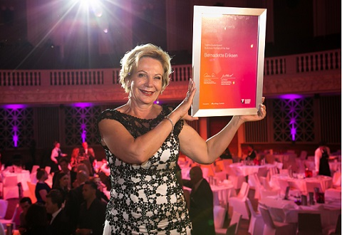 Bernadette Eriksen named 2017 Telstra Queensland Business Woman of the year