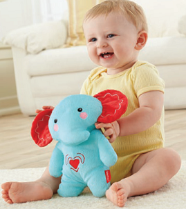 Fisher-Price Calming Vibrations Elephant Soother