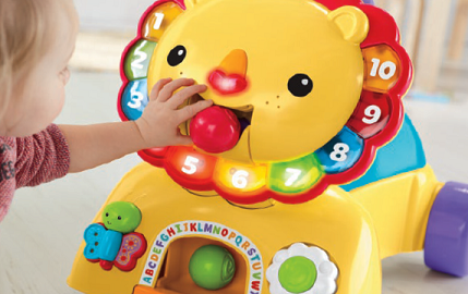 Fisher-Price Stride to Ride Lion