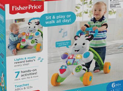 Fisher-Price Zebra Walker