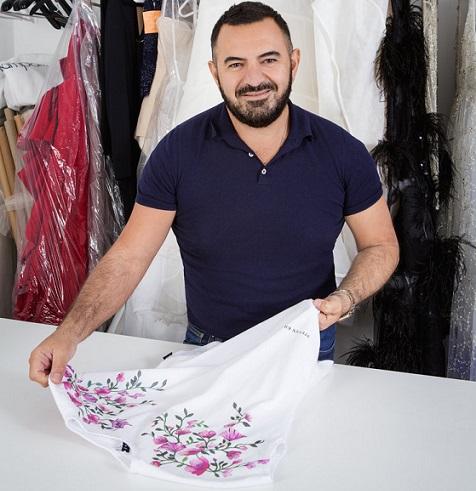 Australian fashion designer Steven Khalil