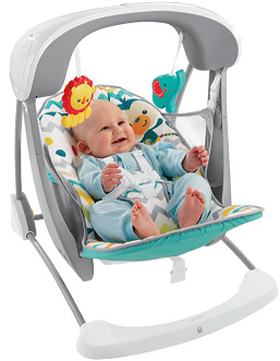 Fisher-Price Deluxe Swing & Seat