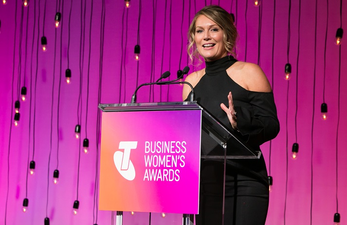Tammy Barton, 2017 Telstra South Australian Business Woman of the Year
