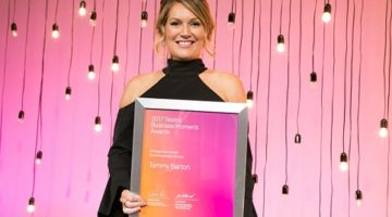 MyBudget founder Tammy Barton named 2017 Telstra South Australian Business Woman of the Year