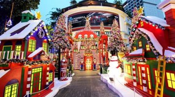 Celebrating Christmas in Singapore