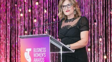 Refugee advocate, Violet Roumeliotis, is 2017 Telstra Australian Business Woman of the Year