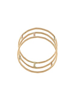 MELISSA JOY MANNING layered brick ring