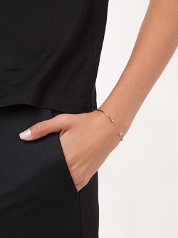 MELISSA JOY MANNING 14kt gold cuff bracelet