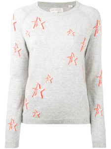 CHINTI & PARKER  cashmere star sweater