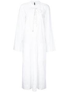 BASSIKE  pleat front sack dress