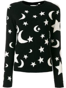CHINTI & PARKER  cashmere midnight sky sweater