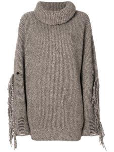STELLA MCCARTNEY tassel-trimmed turtleneck knit