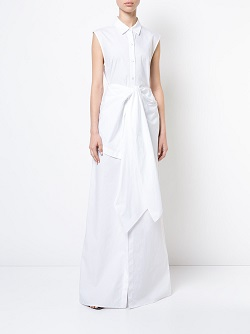 TOME maxi shirt dress