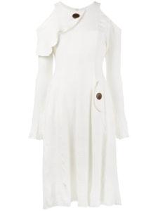 KITX  One World cold-shoulder dress