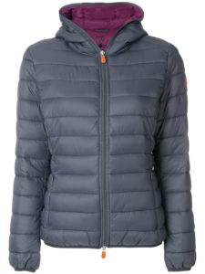 SAVE THE DUCK  padded jacket with hood