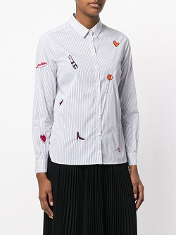 CHINTI & PARKER lolita purse shirt