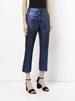 GINGER & SMART cropped tailored trousers